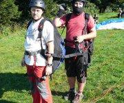 Tandem paragliding Javorový vrch u Třince
