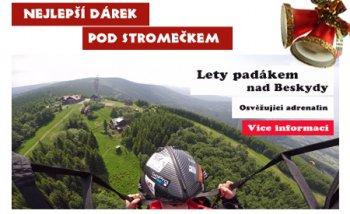 Tandem Paragliding Dárek na vánoce - tandem-beskydy.cz