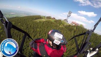 Tandem paragliding sezona 2015 - Javorový vrch