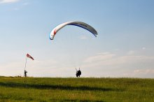 Paragliding Javorový vrch - Let na tandemovém padáku na Javorovém