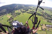 Javorový vrch - paragliding